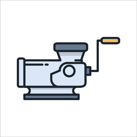 meat grinder icon color