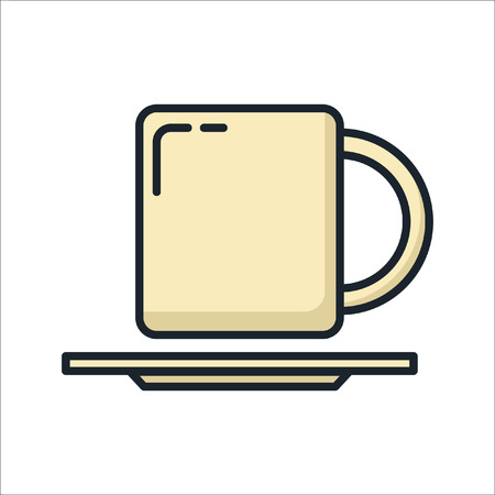 plate and cup icon color