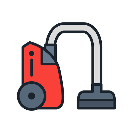 vacuum cleaner icon color