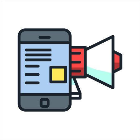 marketing tool icon color