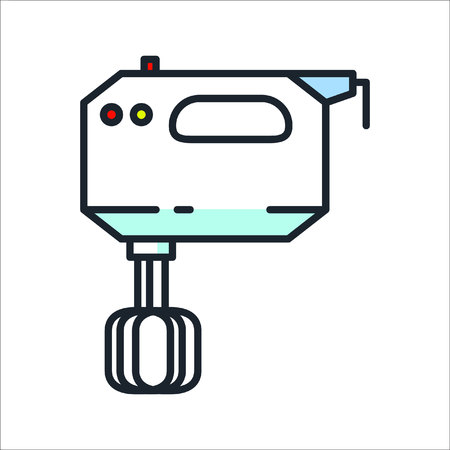 kitchen mixer icon color