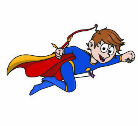 child superboy an arrow