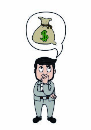 businessman plan to get money
