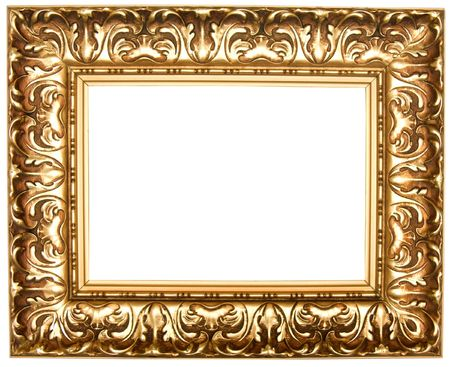 Frame for painting, on a white background.