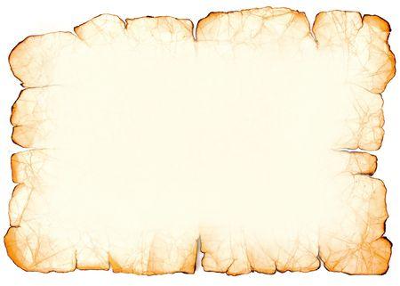 Imitation of old paper. Frame.