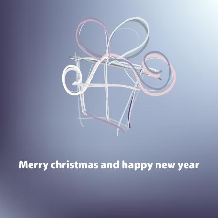 Christmas card template    EPS8 Stock Vector - 17524405