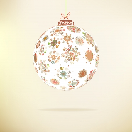 Retro Christmas background     EPS8 Stock Vector - 17525458
