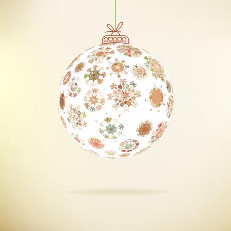 Retro Christmas background     EPS8 Stock Vector - 17525458