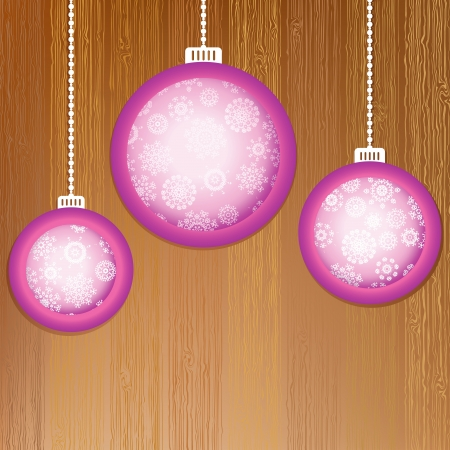 Christmas balls with place for your images     EPS8 Stock Vector - 17525708