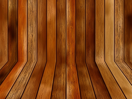 Abstract wooden background     EPS8