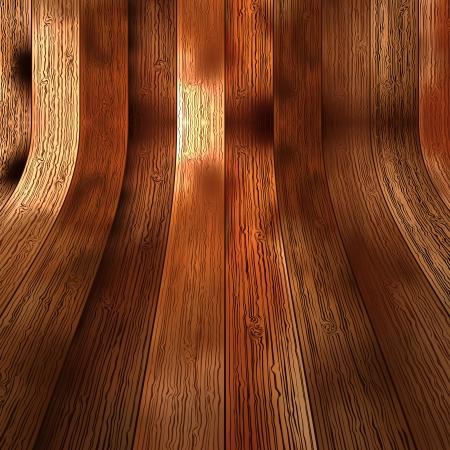 Planche de bois texture fond brun EPS10