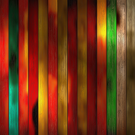 Colorful wooden with copy space Stock Vector - 18595024