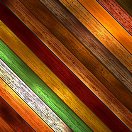 Colorful wooden with copy space Illustration