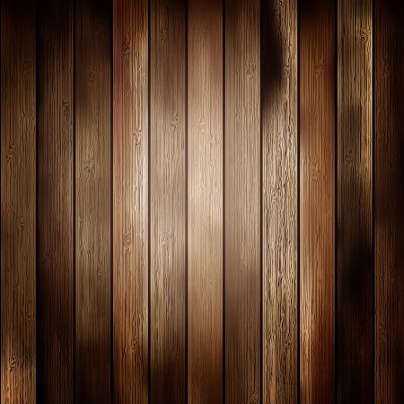 pannello legno: Astratto di texture di sfondo in legno Vettoriali