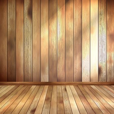 Empty interior with copyspace  EPS 10 Stock Vector - 20274963