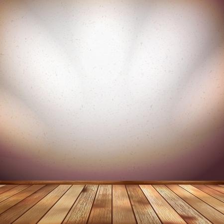 Nice wooden floor background