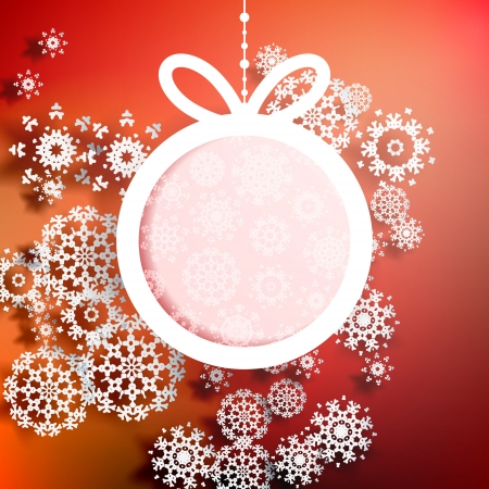 Christmas Greeting Card Stock Vector - 20597515