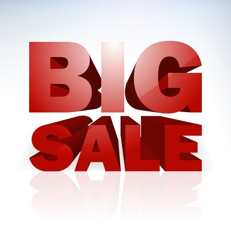 huge: Big sale word template
