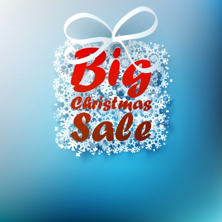 Christmas sale background.
