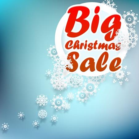 Christmas sale design template. + EPS10 vector file Vector
