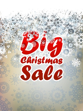 Christmas sale background. + EPS10 vector file Vector