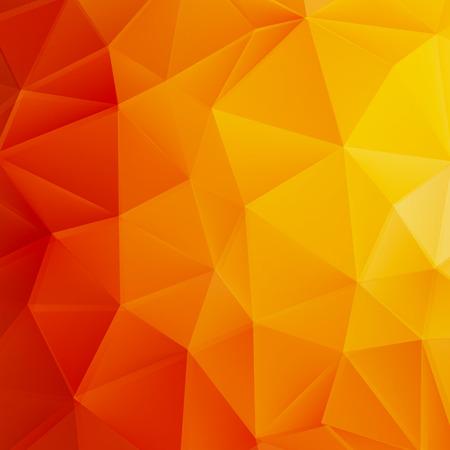 Autumn sun triangle template  plus