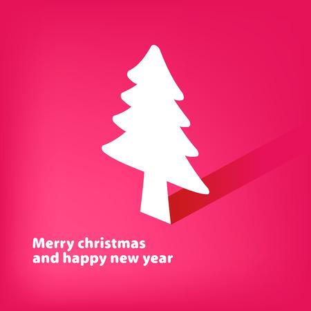 Christmas applique background     EPS8 Illustration
