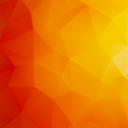 Orange Abstract Mesh Background     Vector