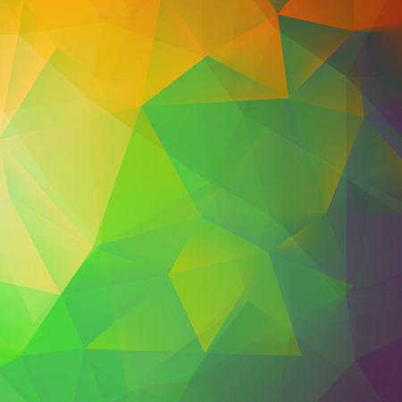 Abstract yellow triangle shapes   Vector