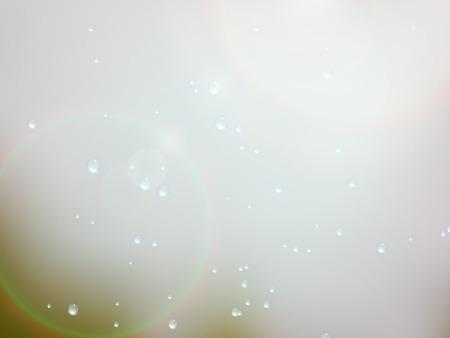 rain window: Drops of rain on the window with sunn glare. Shallow DOF. Illustration