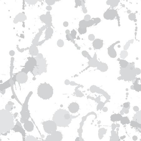 smirch: Seamless pattern with blots  plus  Illustration