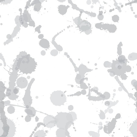 smirch: Seamless pattern with blots  plus