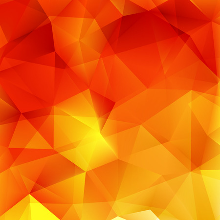 Abstract Autumn geometric shapes