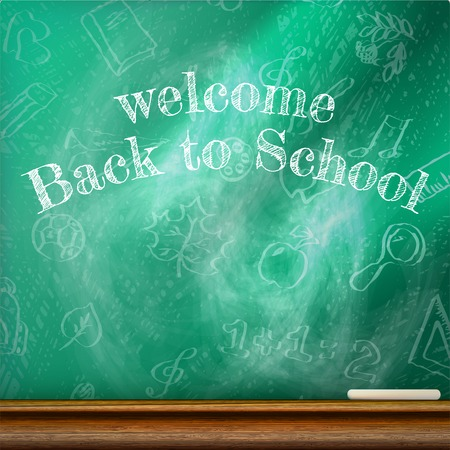 Back to school template design. plus EPS10 vector file