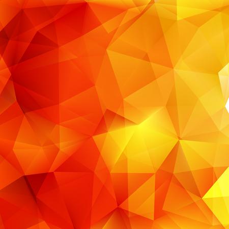Abstracte herfst geometrische vormen driehoek. plus EPS10 vectorbestand