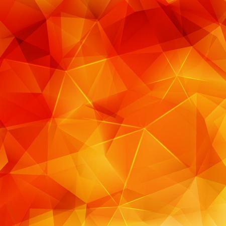 Abstracte herfst geometrische vormen driehoek. plus EPS10 vector bestand
