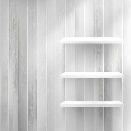 Lagen Blank lichte houten plank. EPS10