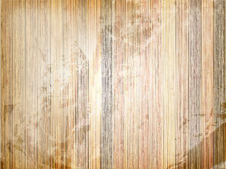Uitstekende houten achtergrond sjabloon. plus EPS10