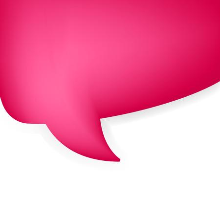 Abstract tekstballon. EPS8