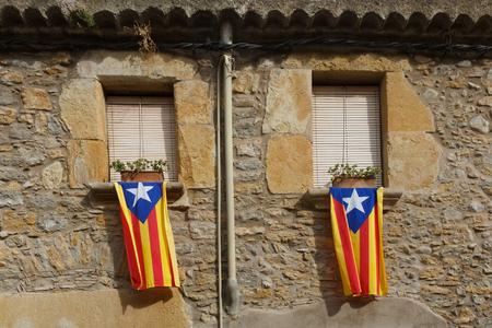 spanish homes: Catalonia flags