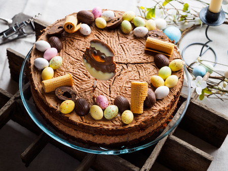 Easter cake closeup photo Banque d'images