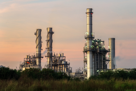 combined: Natural gas turbine electric power plant support factory