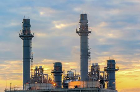 Gas turbine electric power plant