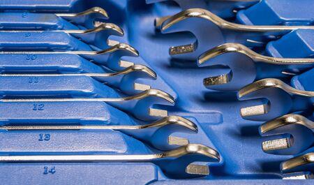 Close up tool set box