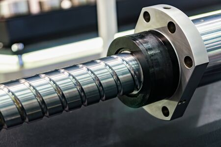 Ball screw for transferring the caliper into motion and feeding Stock fotó