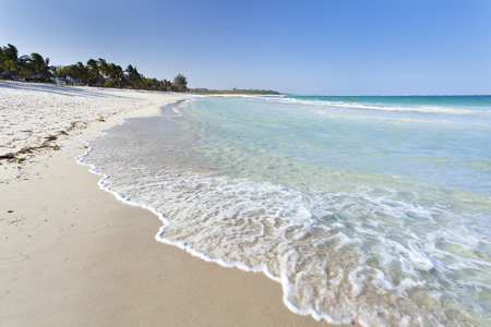 Beautiful Diani Beach near Ukunda, Kenya