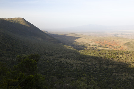 naivasha: Rift Valley Lookout on the road from Nairobi to Naivasha in Kenya.