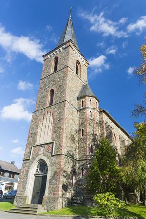 nikolaus: St. Nikolaus church in Einruhr in the Eifel, Germany