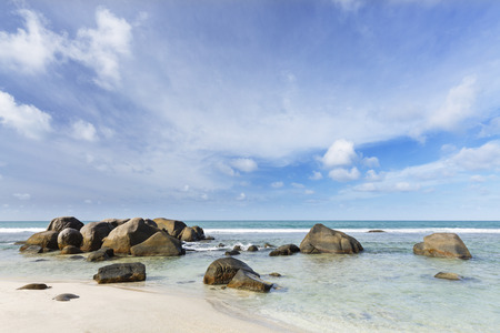 nord: Anse Nord DEst in the north of Mahe, Seychelles