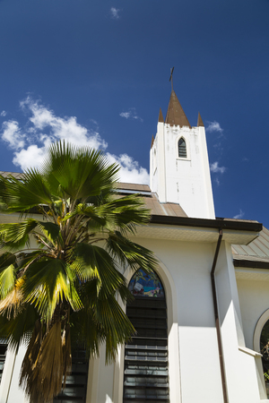 st pauls: The Anglican St. Pauls Cathedral in Victoria, Mahe, Seychelles
